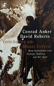 Anker Robert Verschollen am Mount Everest Cover 2000 klein