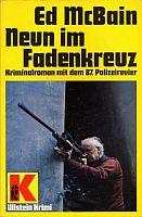 McBain Neun Fadenkreuz Cover 1986 klein