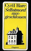 Hare Selbstmord ausgeschlossen Cover Diogenes klein
