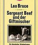 Leo Bruce - Sergeant Beef und der Giftmischer