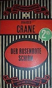 Crane Rosaroter Schirm Cover 1957