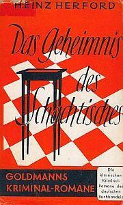 Herford Geheimnis des Schachtisches Cover 1953 klein