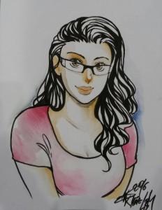 Manga-Portrait von Beatrice Richter by Kiriya Kirihara
